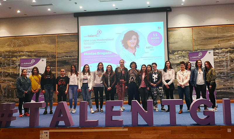 Montse Bragado en STEM TALENT GIRL