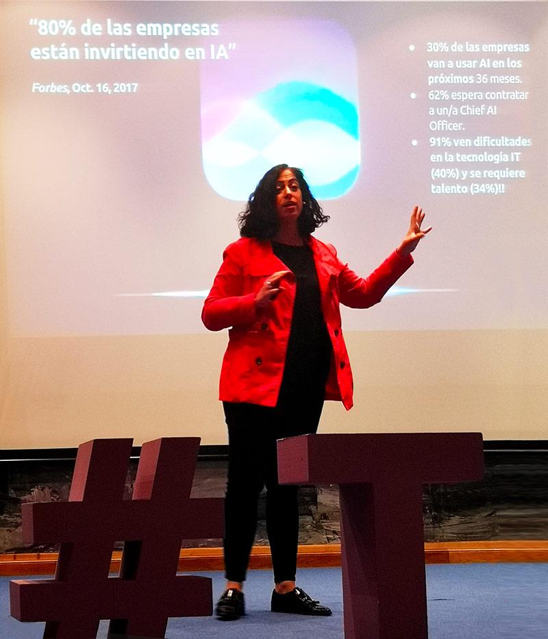 Masterclass de Cristina Aranda en STEM TALENT GIRL