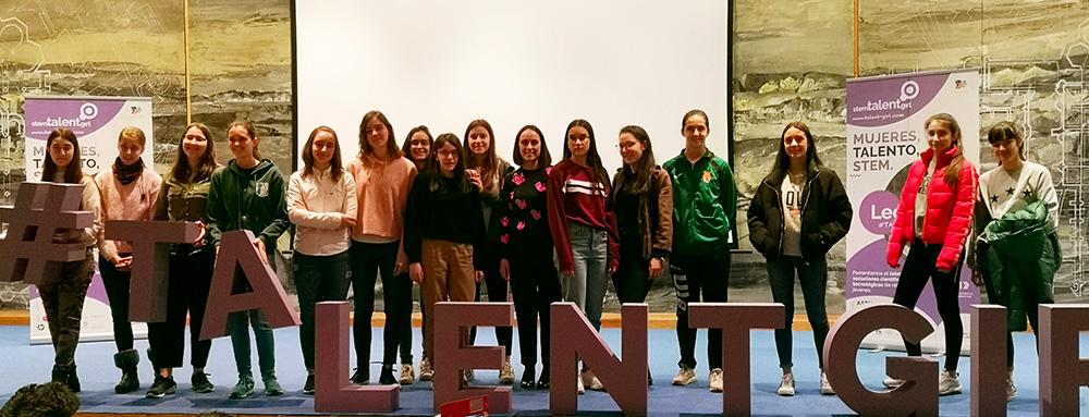 Jara Álvarez en STEM TALENT GIRL